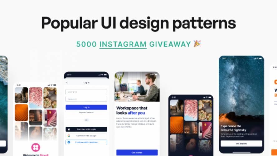 Figma Login Signup UI Patterns Free Download
