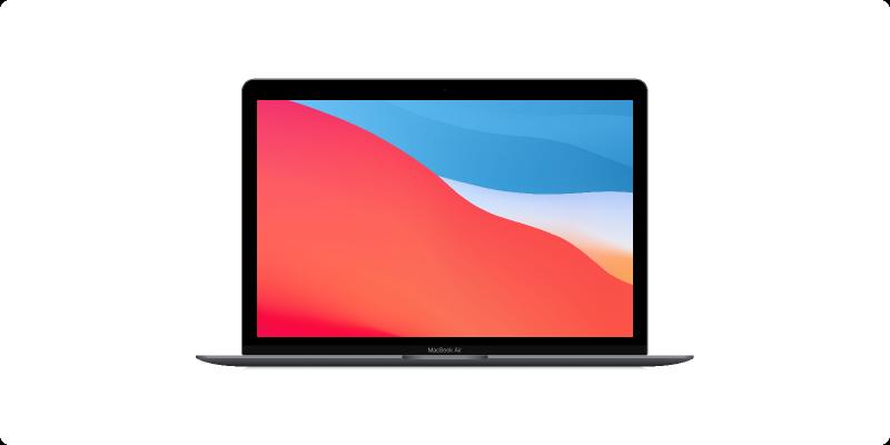 Figma MacBook Air Realistic Mockup