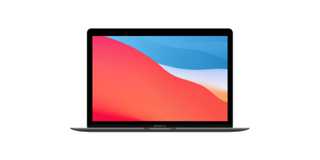 Figma MacBook Air Realistic Mockup