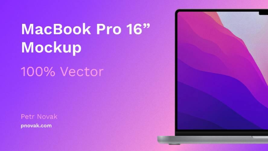 Figma Macbook pro 2021 Mockup