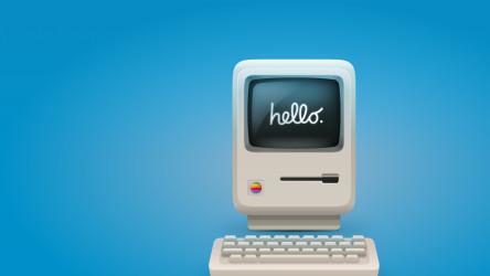 Figma Macintosh Classic illustrations