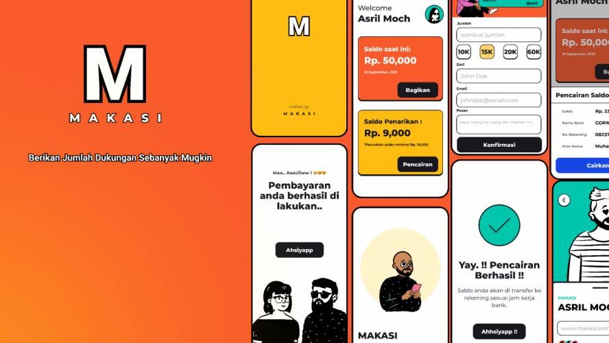 Figma Makasi Ui Kit Mobile App