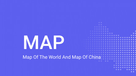 Figma Map of the world and map of China