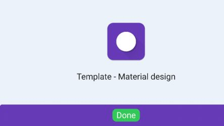 Figma Material 2.0 Project templates