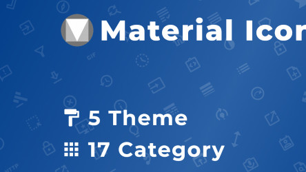 Figma Material Icons Pack (Free Download 6800+ icon variants)