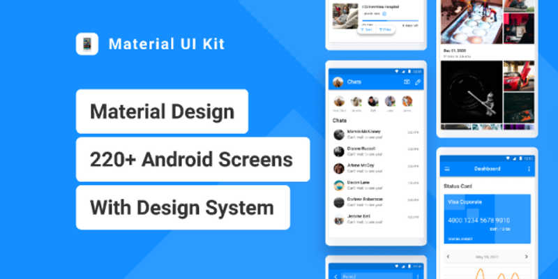Figma Material UI Kit for Android Template