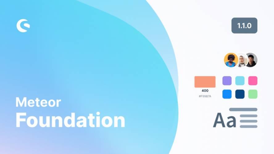 Figma Meteor Foundation Ui kit