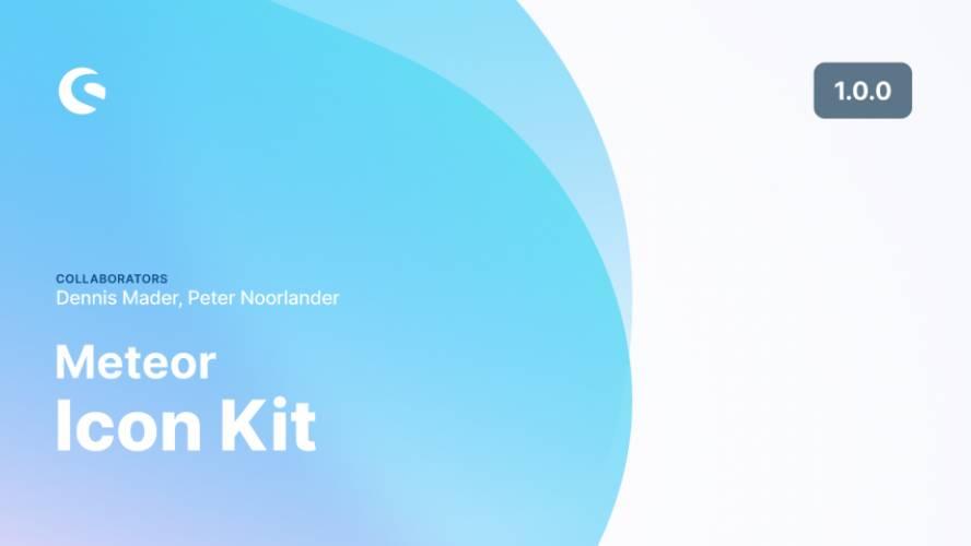 Figma Meteor Icon Kit Template