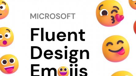 Figma Microsoft Fluent Design Emojis