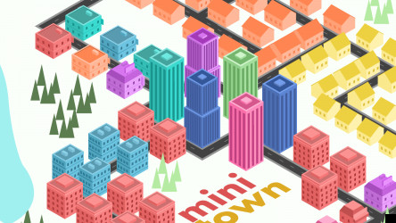 Figma Mini Town Illustrations