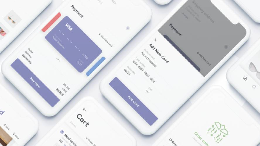 Figma Mobile Credit Card Check Out Template