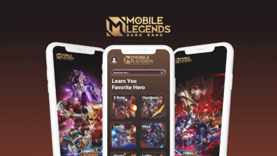 Figma Mobile Legends Streamer Apps