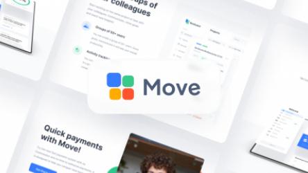 Figma Move Multipurpose Template 2.2 Preview