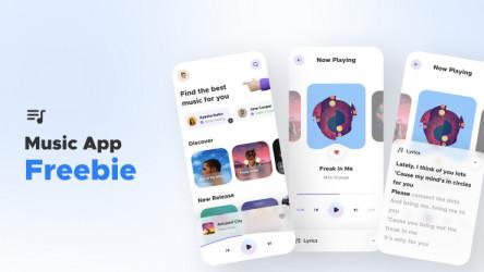 Figma Music Player App Freebie