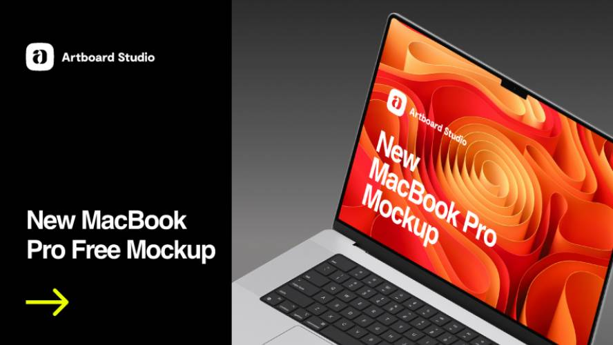 Figma New MacBook Pro Mockup