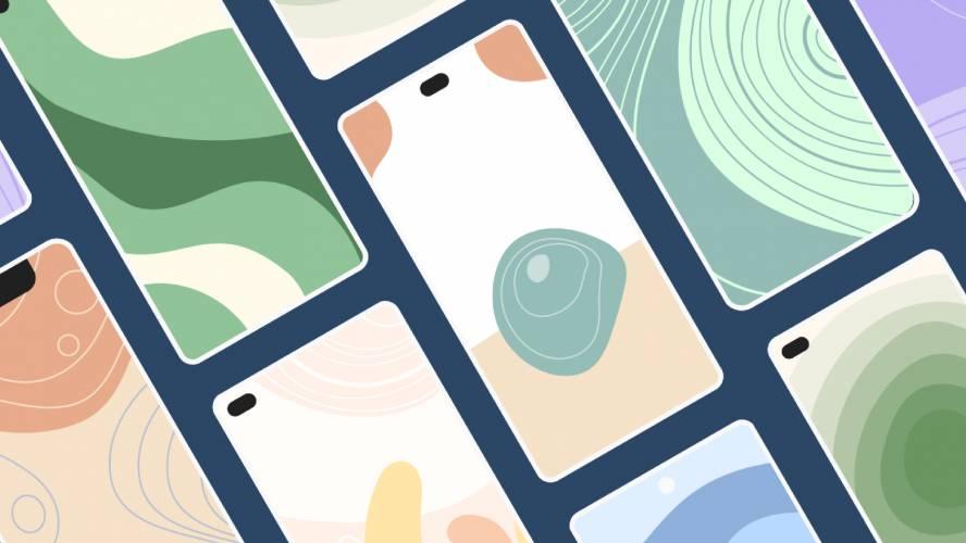 Figma Organic minimalist Illustrations