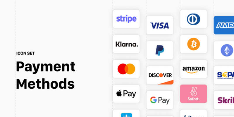 Figma Payment Methods Icon Set