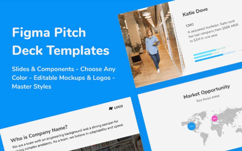 Figma pitch deck template figma