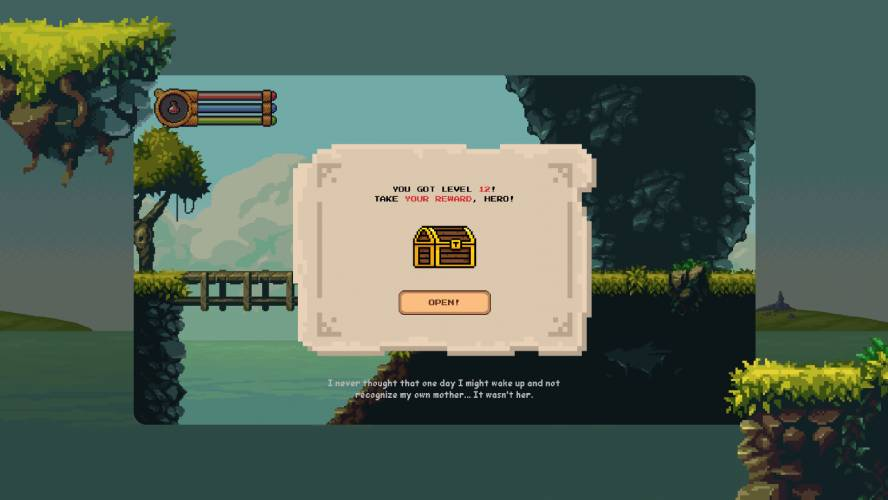 Figma Pixel Game User Interface