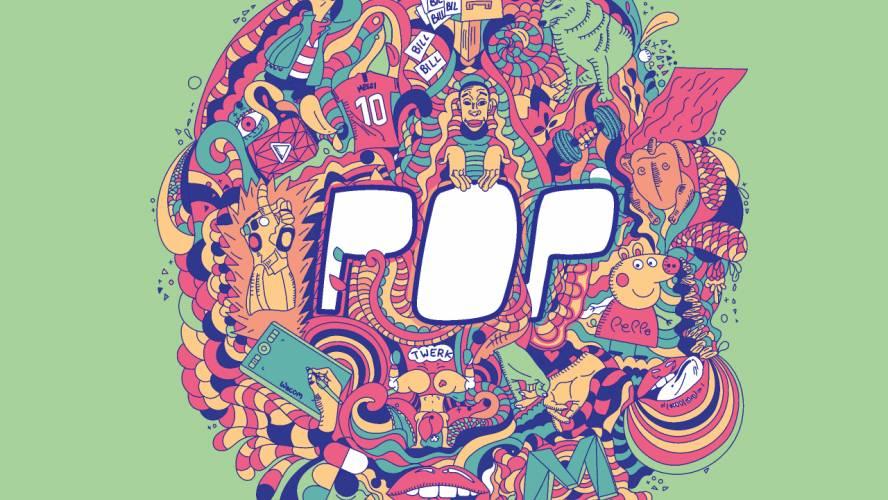 Figma Pop Poster Template