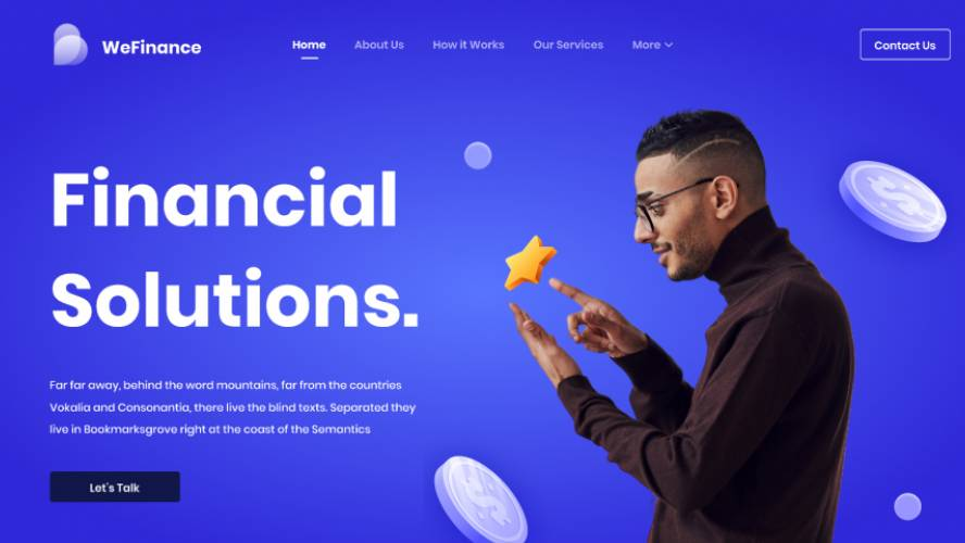 Figma Preview WeFinance Free Download