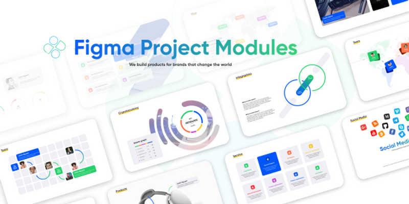 Figma Project Modules Free