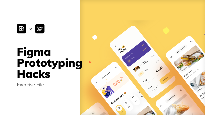 Figma Prototyping Hack - Exercise File