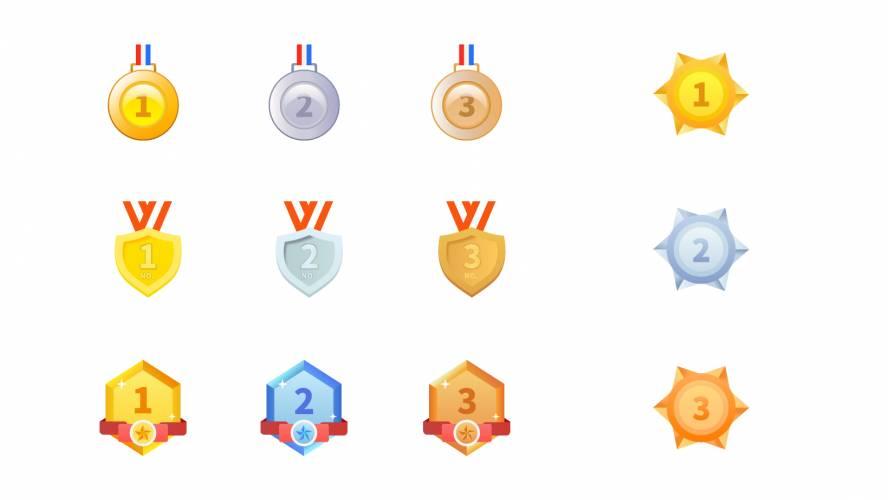 Figma Ranking Icons