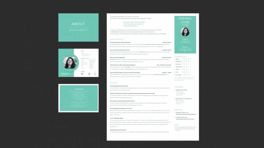 Figma Resume Free Download