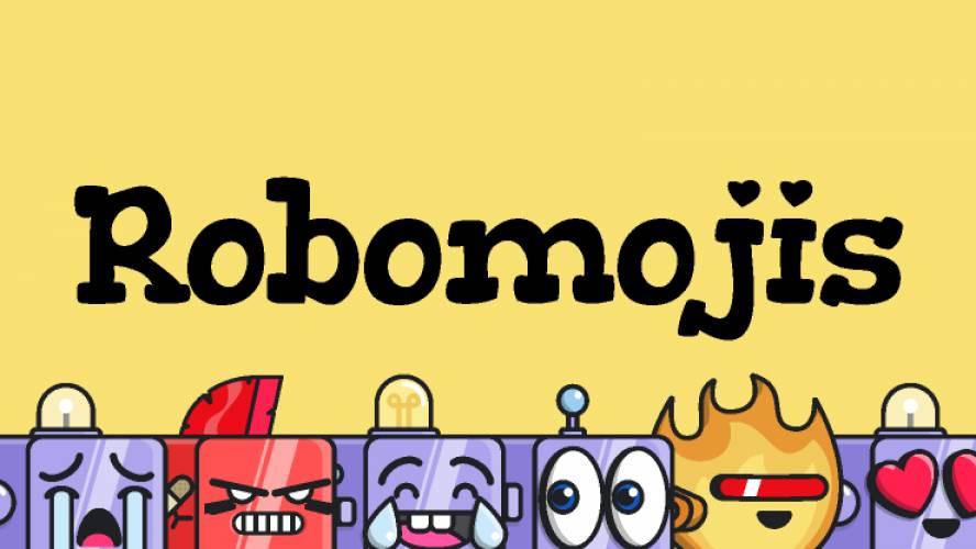 Figma Robomojis Free Template