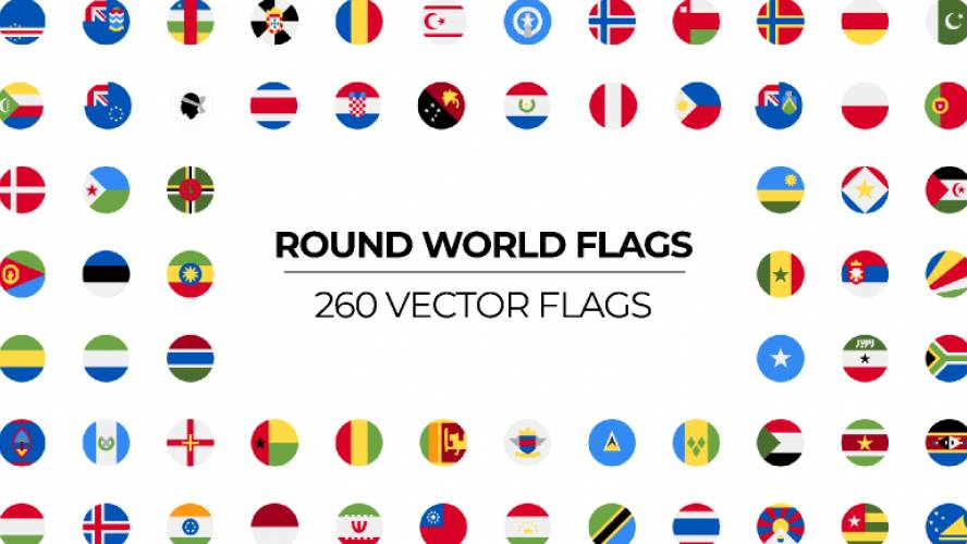 Figma Round world flags