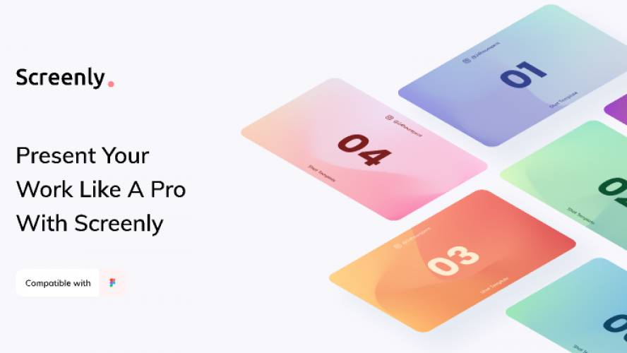 Figma Screenly Shot Template Free Download