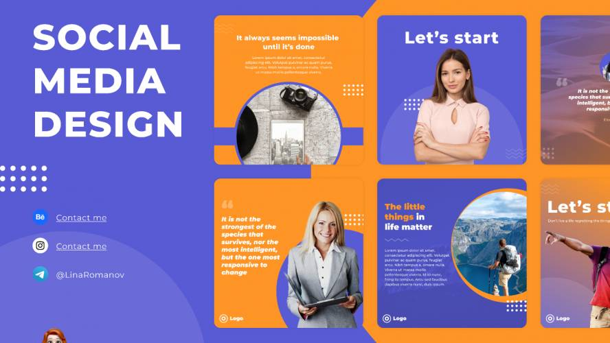 Figma Social Media Design Template