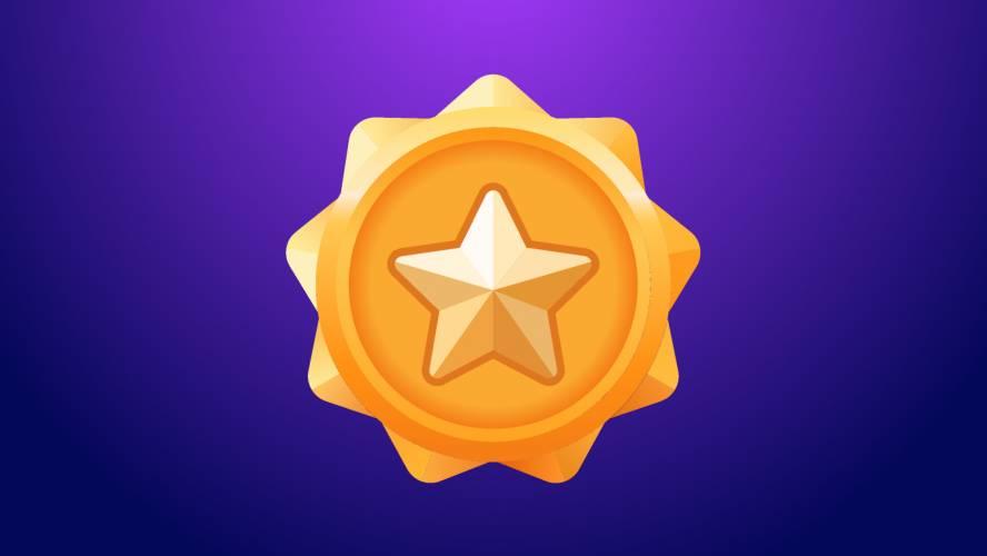 Figma Star Badge
