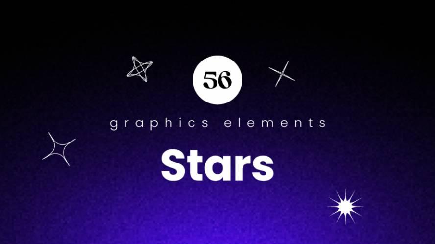 Figma Stars Pack Illustrations