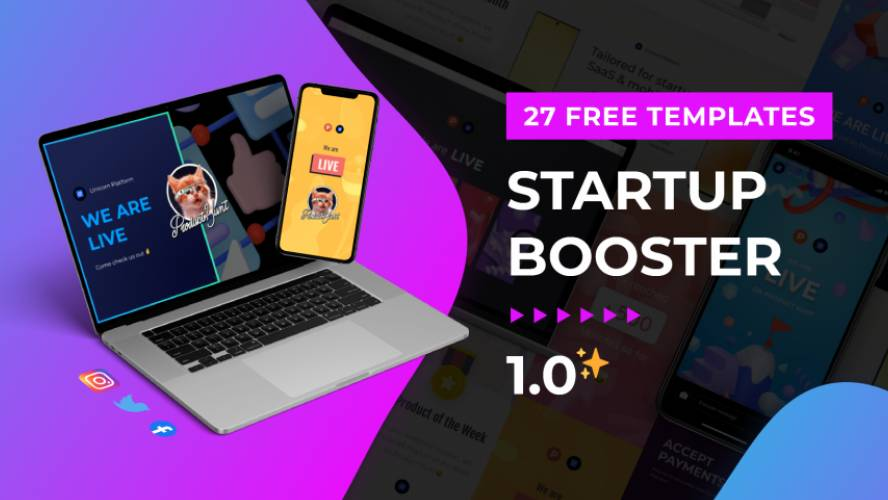 Figma Startup Booster Template