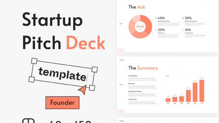 Figma Startup Pitch Deck Template