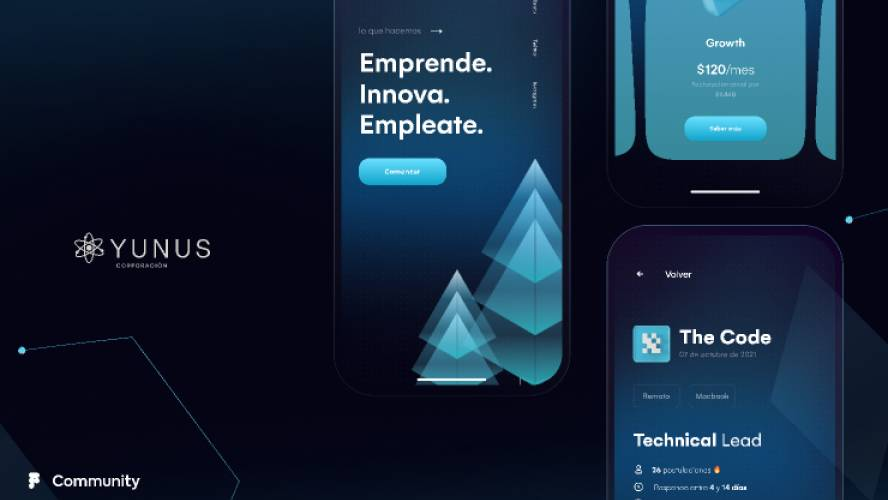 Figma Startup YUNUS Mobile App