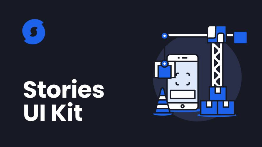 Figma Stories UI Kit Free Download