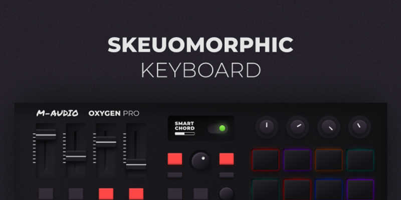 Figma template Skeuomorphic Keyboard