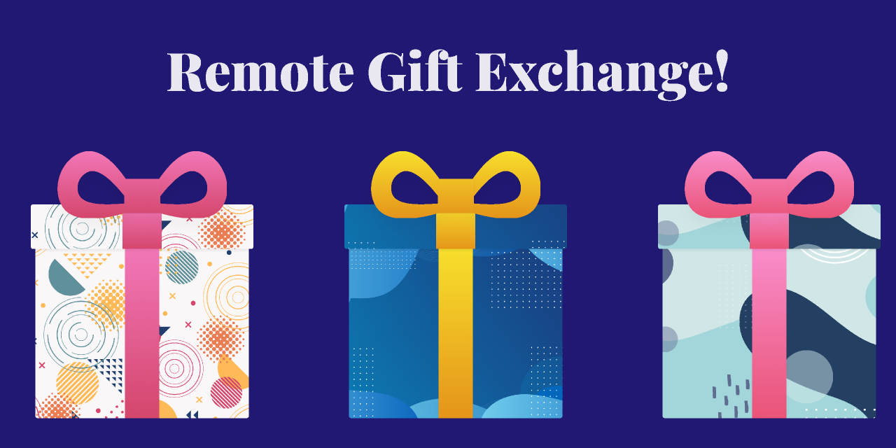 Figma Templates 🎁Remote Gift Exchange🎁