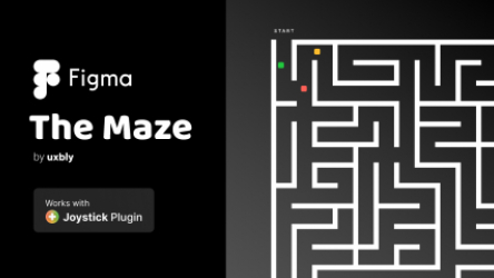 Figma The Maze Game Template