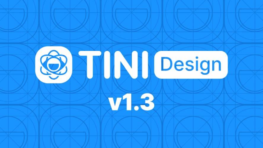 Figma Tini design system