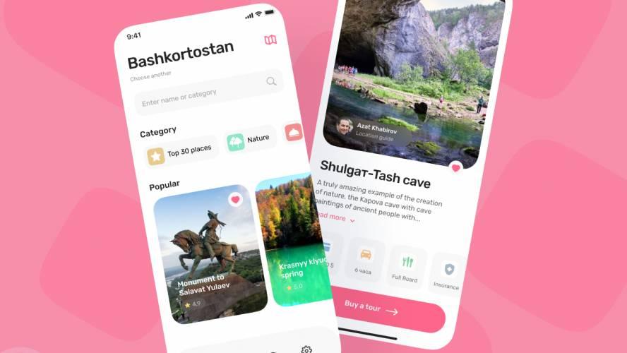 Figma Travelers Mobile App Template