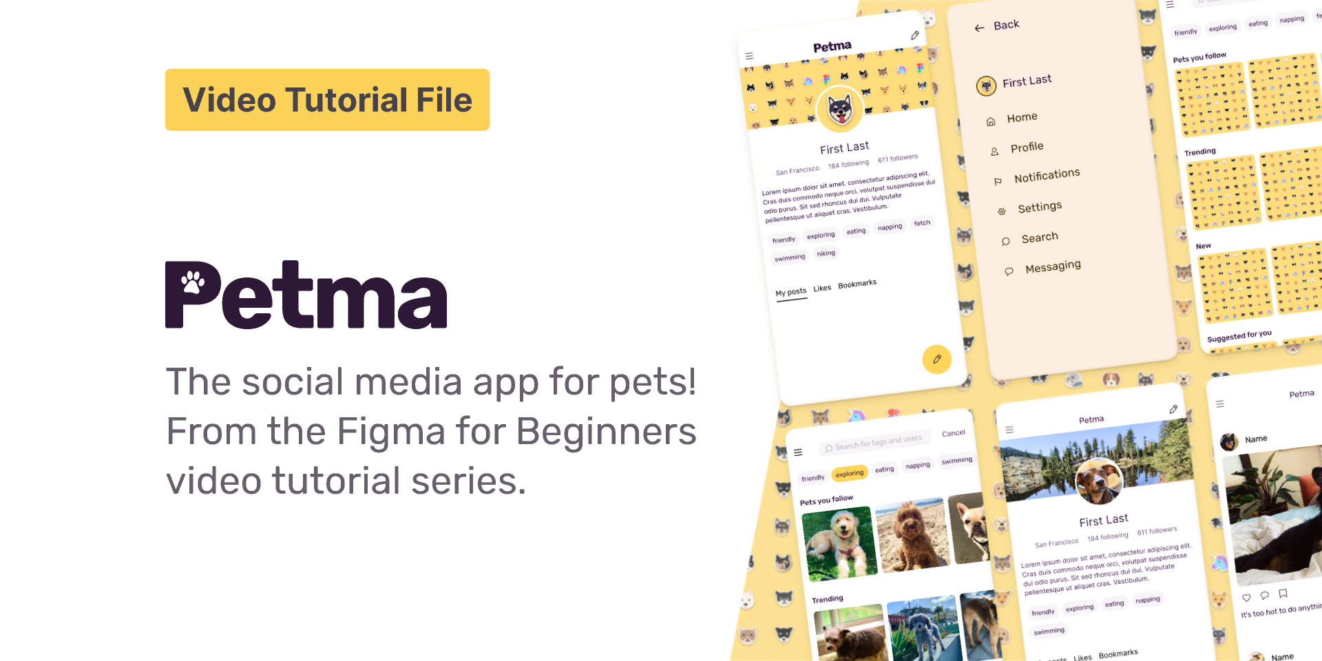 Figma Tutorial for Beginners visual design