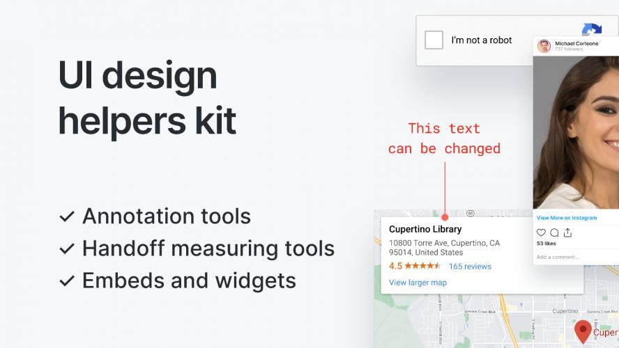 Figma UI Design Helpers Kit