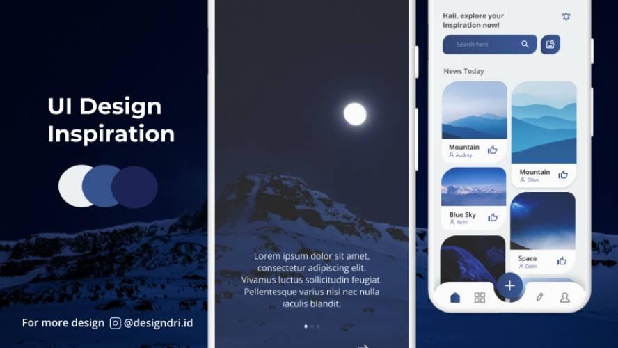 Figma UI Design Inspiration Template