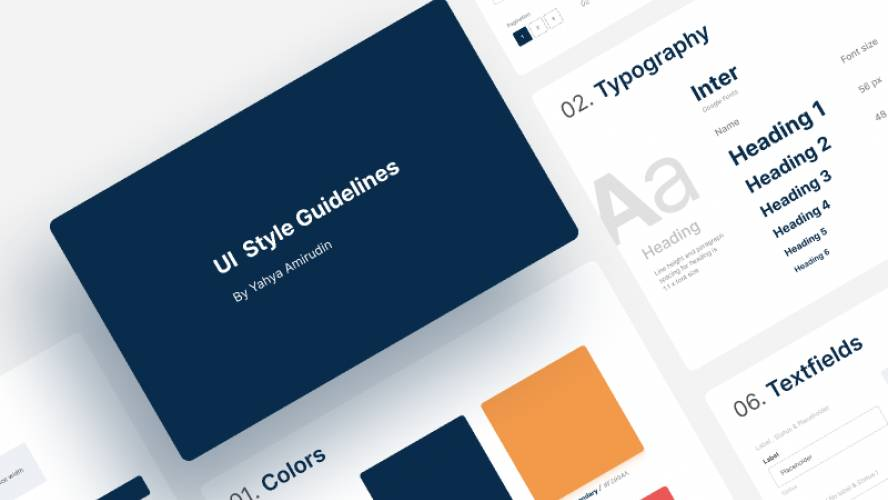 Figma Ui Style Guidelines Template