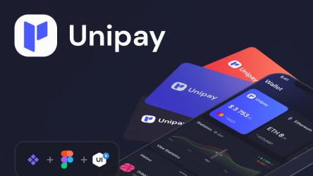 Figma Unipay: Wallet App iOS UI Design System v1.1