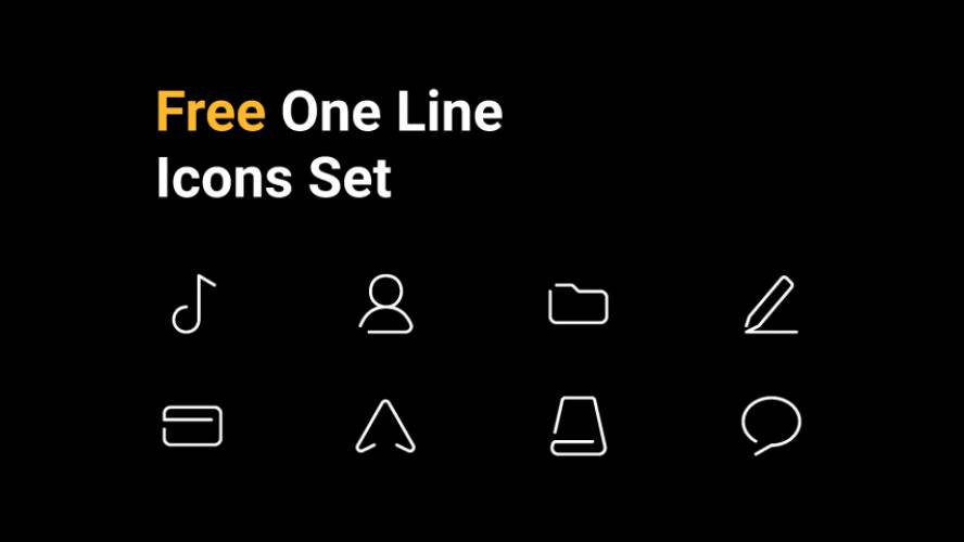 Figma Unoline Icons Set Free Download